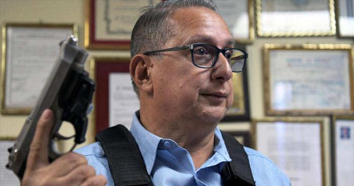 """Alcalde de San José Guayabal: """"Pandilleros planeaban lanzarme un granada cuando saliera con mi familia"""""""