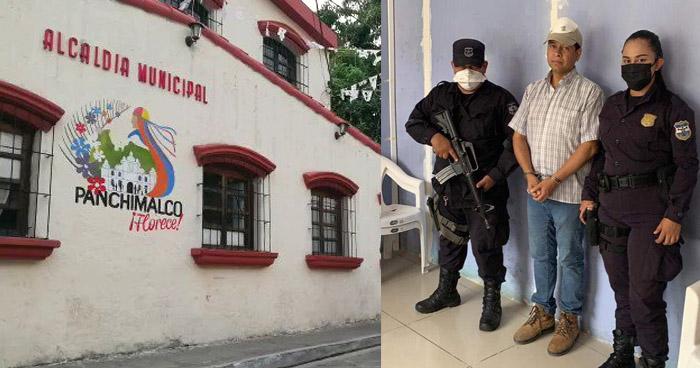 Detienen a 5 personas más y allanan Alcaldía de Panchimalco por Hurto de abono propiedad del MAG