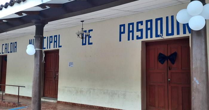 Cierran alcaldía de Pasaquina por posibles casos de COVID-19
