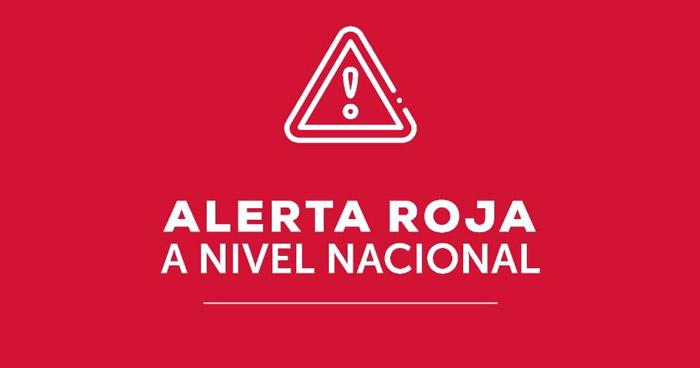 El Salvador en Alerta Roja por huracán Iota