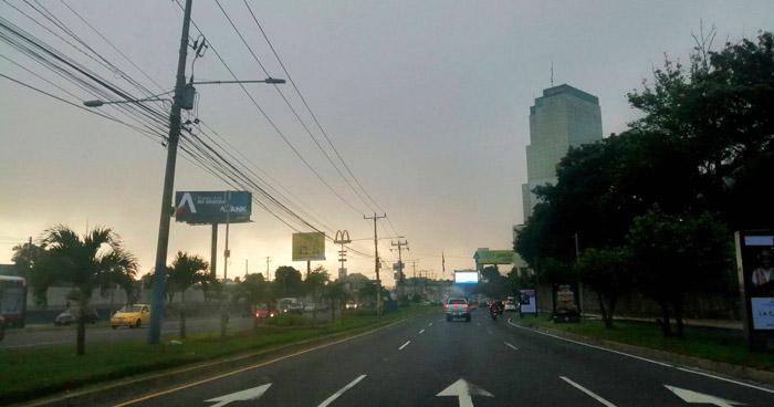Bajas probabilidades de lluvias con énfasis al oriente del país
