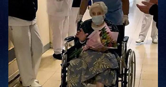 Mujer de 101 años supera el COVID-19 en Argentina