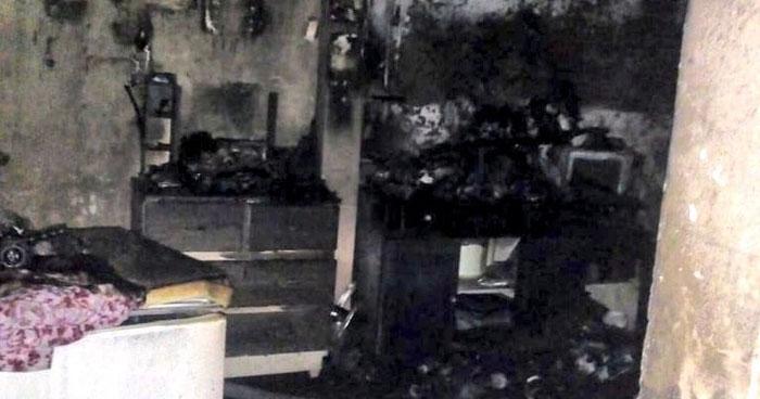 Anciana muere calcinada al interior de su vivienda en Santa Ana