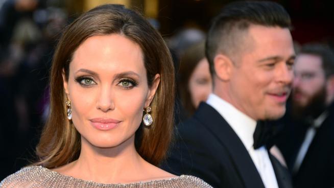 Angelina Jolie es vecina de su expareja Brad Pitt