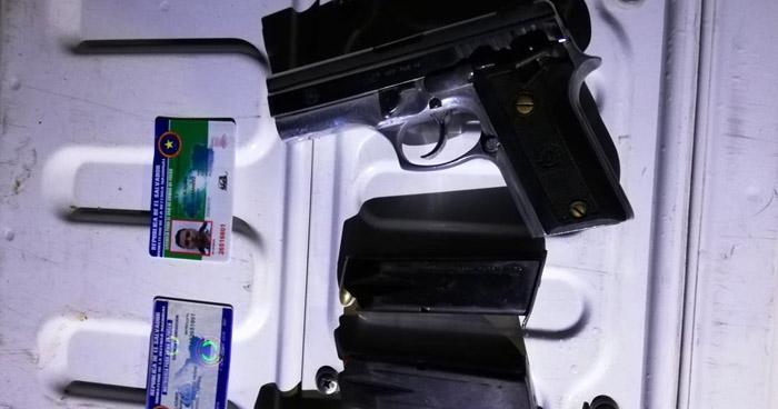 Hombre armado era buscado por homicidio