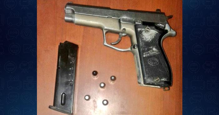 Capturan a pandillero menor de edad portando un arma de fuego en Ilopango