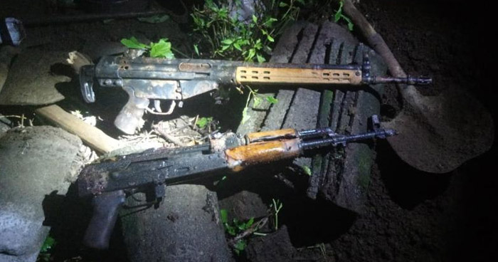 Decomisan fusiles y vehículos en poder pandilleros en el oriente del país