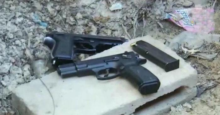 Incautan dos armas de fuego durante operativo en comunidad Golfer de San Salvador
