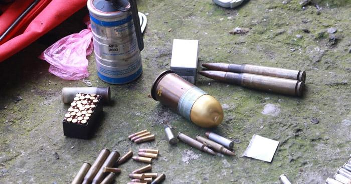 Salvadoreña capturada en Guatemala cuando transportaba armas y munición de guerra