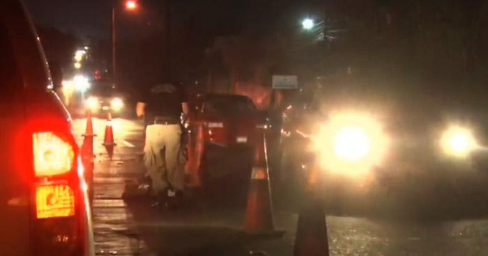Hombre muere al ser atropellado cuando cruzaba la carretera Troncal del Norte