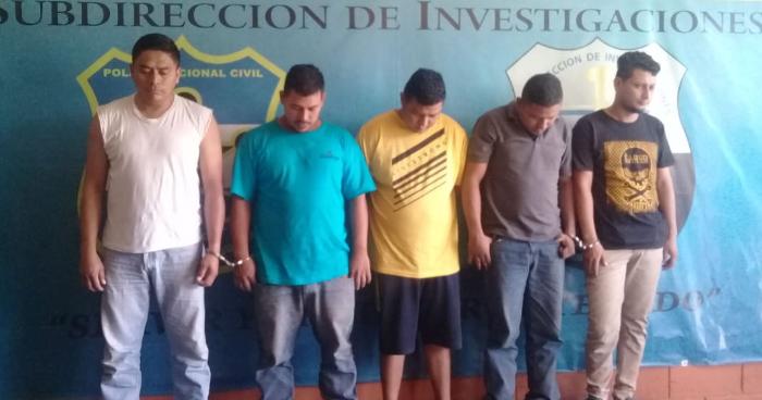 Capturan a banda que robaba camiones con mercadería en distintos puntos del país
