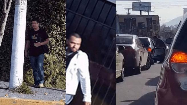 Captan en vídeo asalto a vehículo en calle El Jabalí, Ciudad Merliot