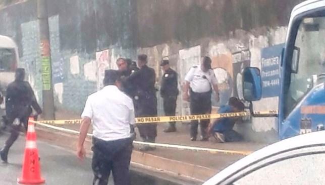 Dos heridos y dos delincuentes capturados tras asalto a mano armada en Ruta 44, San Salvador