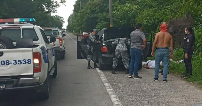 Capturados tras asaltar a mano armada en restaurante de Santo Tomás
