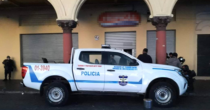 Policía frustra robo en almacén del centro de San Salvador
