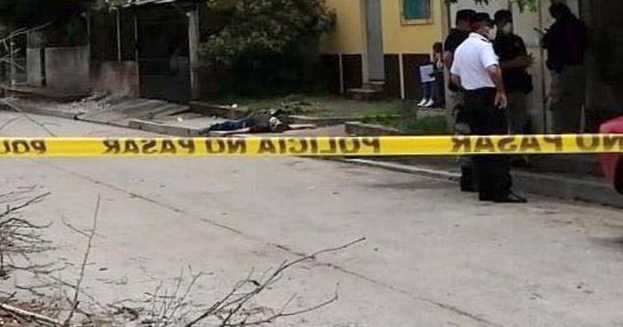 Asesinan a un hombre en colonia de Chalchuapa, Santa Ana