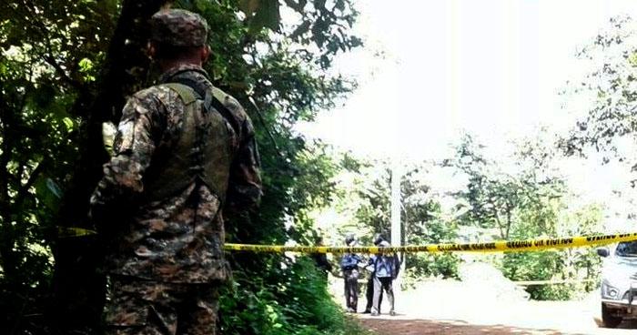 Interceptan a un joven y luego lo asesinan en Meanguera, Morazán