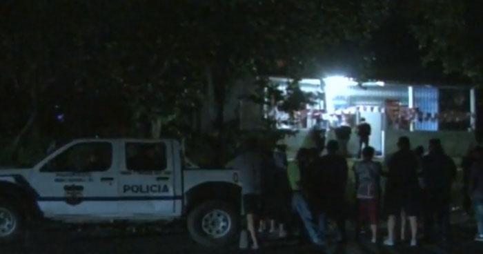 Matan a un hombre dentro de una cervecería en San Luis Talpa, La Paz
