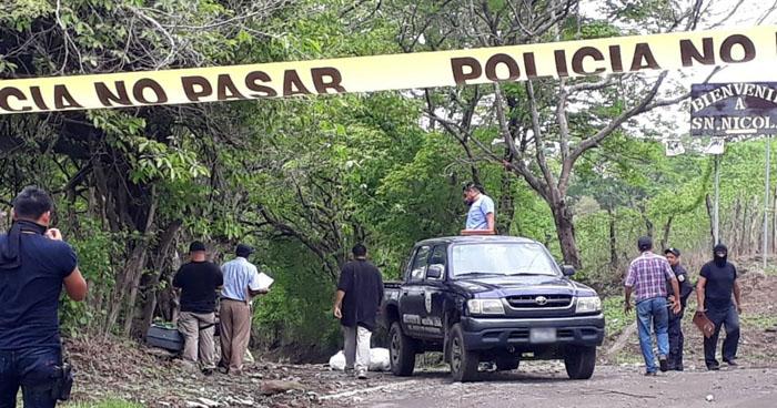 Joven fue asesinado al interior de su vivienda en San Miguel