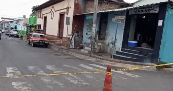 Anciano asesinado en una barbería de Zacatecoluca, La Paz