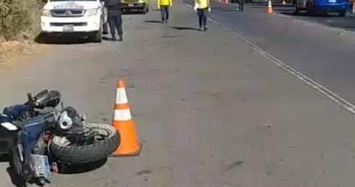 Anciano muere al ser atropellado por un motociclista en San Miguel