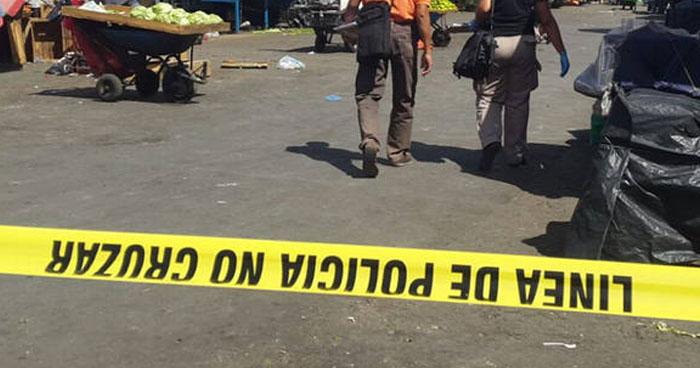 Vendedor lesionado tras ataque armado en mercado municipal de Chalchuapa