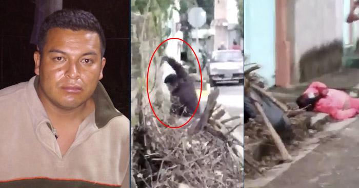 VIDEO | Atacó con una roca a una mujer en Alegría, Usulután