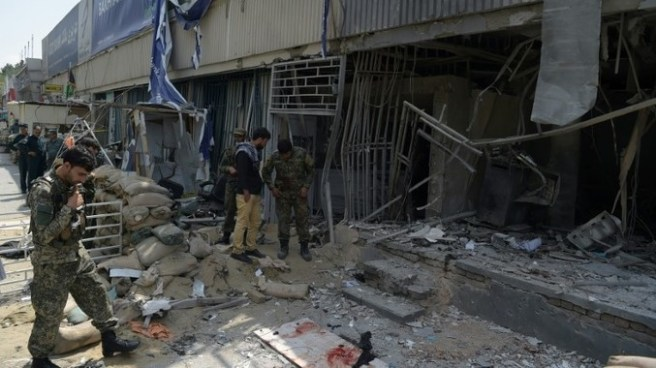 Cuatro muertos en un atentado cerca de la embajada de EE.UU. en Afganistán