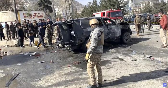 Dos muertos dejan tres atentados en Kabul, Afganistán