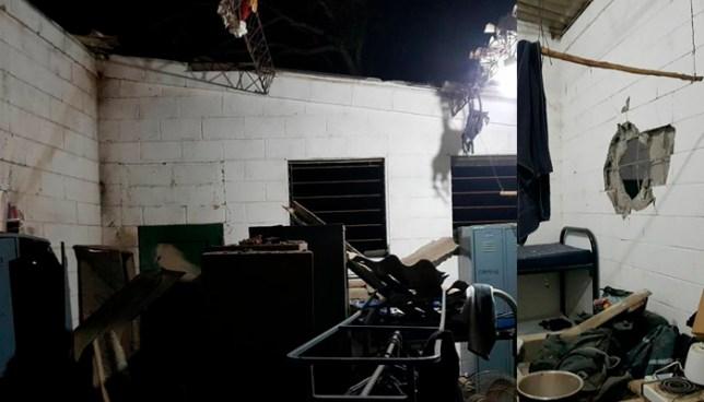 Atentado con artefacto explosivo a unidad policial en los Planes de Renderos