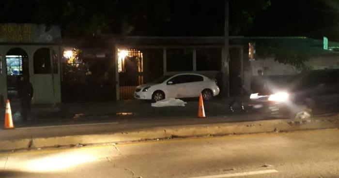 Mujer murió al ser atropellada en carretera Troncal del Norte