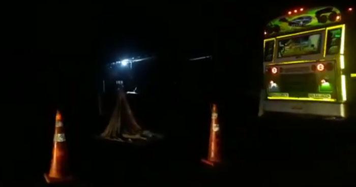 Conductor de un autobús ruta 116 atropella y mata de una mujer en carretera Panamericana