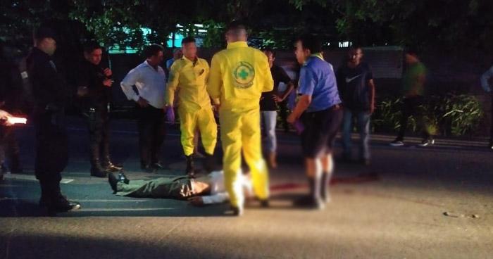 Peatón pierde la vida al ser atropellado en carretera Troncal del Norte