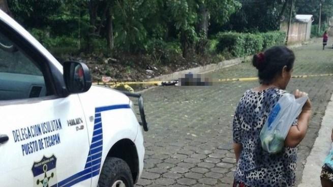 Hombre muere tras ser atropellado en los alrededores del parque de Tecapán, Usulután