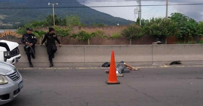 Hombre muere tras ser atropellado en carretera de Quezaltepeque a San Juan Opico