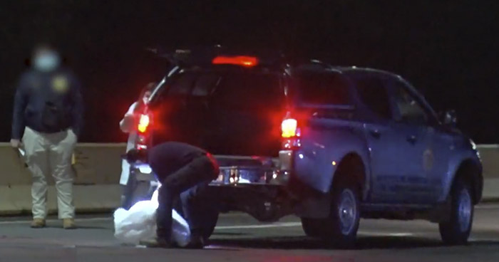 Joven muere al ser atropellado sobre carretera a Sonsonate