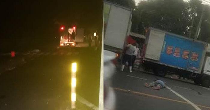 Anciano muere al ser atropellado en desvío de Moncagua, San Miguel