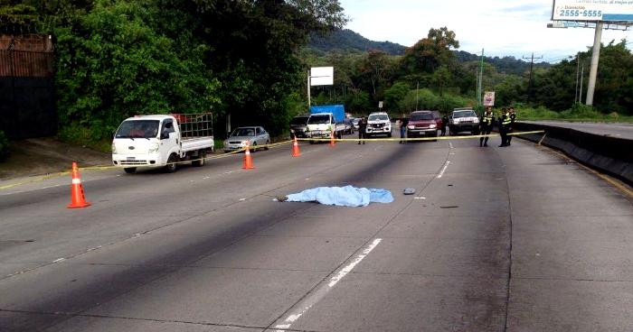 Un hombre muere tras ser atropellado en la carretera de Los Chorros