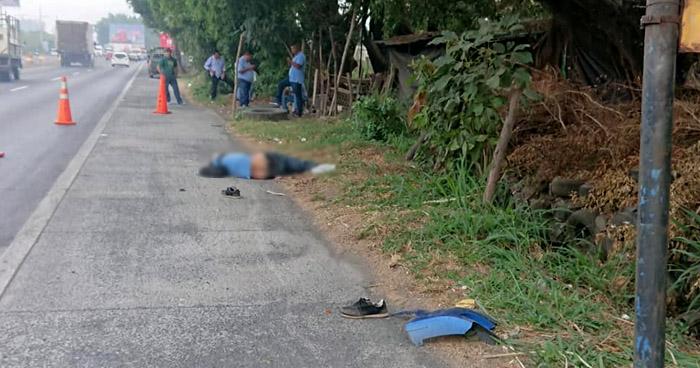 Peatón muere al ser atropellado por conductor en aparente estado de ebriedad