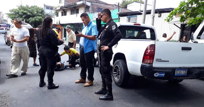 Hombre lesionado tras ser atropellado por plaza Zurita