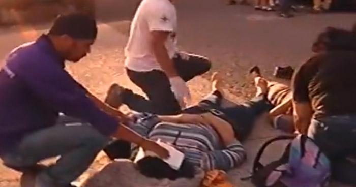 Una maestra y 2 estudiantes atropellados en carretera Panamericana