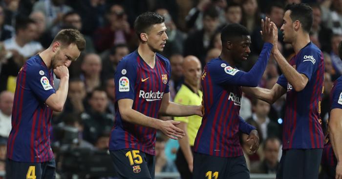 El Barcelona gana 1-0 el clásico y deja en K.O. al Real Madrid