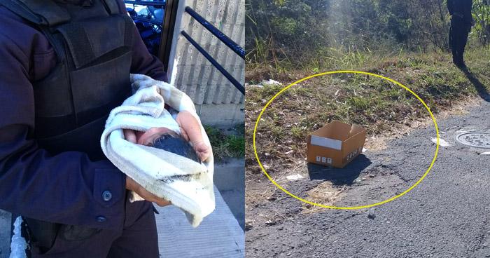 Bebé de 3 horas de nacida fue abandonada en carretera de Oro