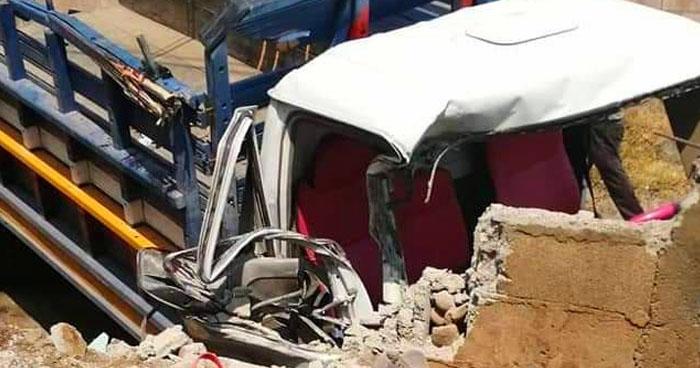 Bebé de 6 meses muere en accidente de tránsito en Chirilagua, San Miguel
