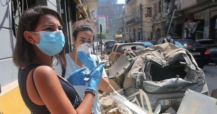 Contagios por COVID-19 podría aumentar en Líbano tras explosión en Beirut