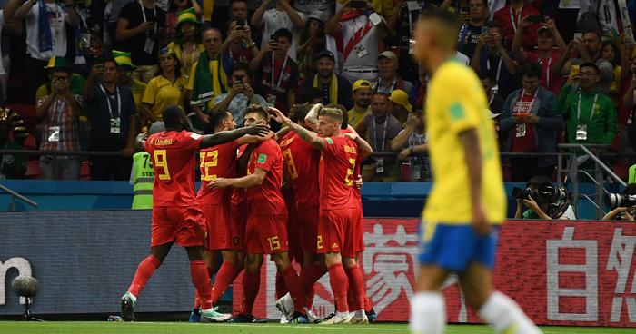 Brasil eliminada del Mundial Rusia 2018, Bélgica se clasifico a las semifinales