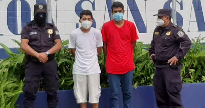 Extorsionaban a víctimas en Barrio Santa Anita, de San Salvador