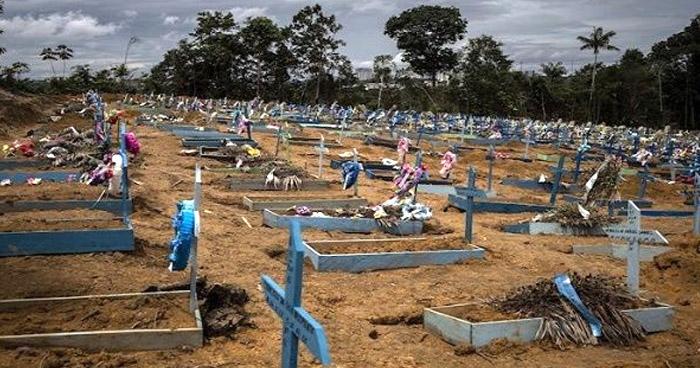 Más de 80 mil personas han muerto por COVID-19 en Brasil