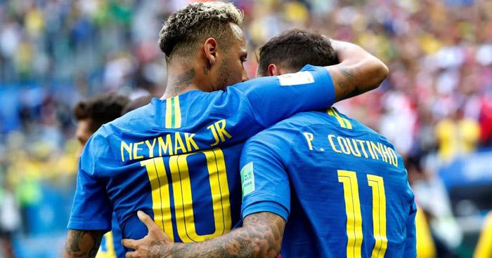 Resultado de imagen para Brasil derrota a Costa Rica