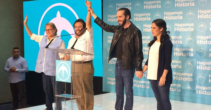 Diferentes personalidades políticas felicitan al nuevo presidente salvadoreño, Nayib Bukele